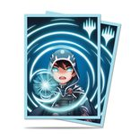 Ultra Pro Chibi Collection Jace - Mystic Standard Deck Protector sleeves (100ct)