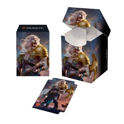 Ultra Pro Deck Box Core Set 2020: Ajani, Strength of The Pride 100+