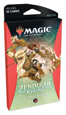 Zendikar Rising Theme Booster Red