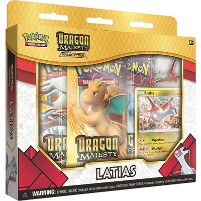 Pokemon Dragon Majesty Pin Collection Latias