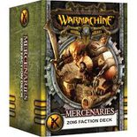 Warmachine Faction Deck: Mercenaries Mk III