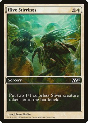 Hive Stirrings - Magic 2014 Promos