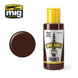 AMMO Stynylrez / One Shot Primer: Brown Oxide Primer 60ml