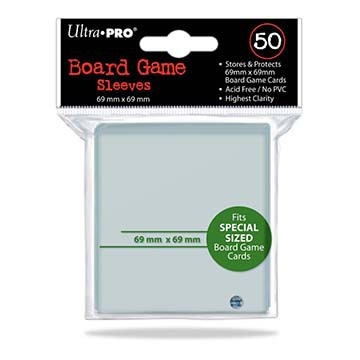 Ultra Pro Boardgame Sleeves 69x69mm (50pcs)