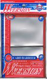 KMC Sleeves Card Barrier Clear (80pcs)