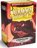 Dragon Shield Sleeves Red (100 Sleeves)