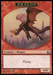 Dragon TOKEN 6/6 - Return to Ravnica