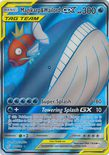Magikarp & Wailord GX Full Art 160/181 - Sun & Moon Team Up
