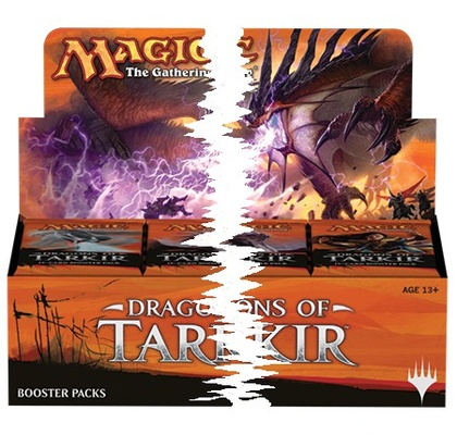 Dragons of Tarkir Booster Half Box