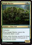 Jungle Barrier - Explorers of Ixalan