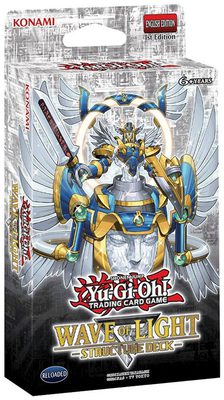 Yu-Gi-Oh Structure Deck: Wave of Light