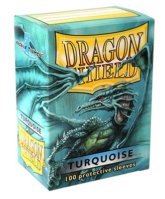 Dragon Shield Sleeves Turquoise (100pcs)