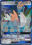 Cobalion GX 106/181 - Sun & Moon Team Up