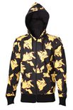 Pokemon Hooded Sweater Pikachu All Over (Size L)