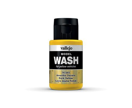 Vallejo Model Wash: Dark Yellow