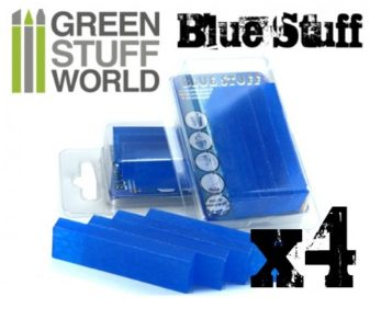 GWS Blue Stuff: Instant Reheatable Mold (4pcs)