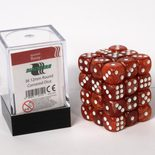 Blackfire Dice Cube, 36x 12mm D6, Marbled Rossy