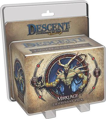 Descent (2nd Ed): Gargan Mirklace Lieutenant Pack