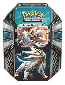 Pokemon Spring Tin: Legends of Alola - Solgaleo
