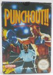 EMPTY BOX - Punch-Out!! (manual + box only, no game!)