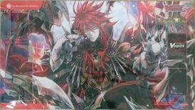 Cardfight Vanguard Playmat: One Steeped in Sin, Scharhrot (Absolute Judgment promo)