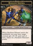 Resilient Khenra Token 4/4 - Hour of Devastation