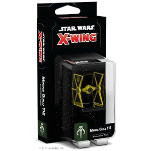Star Wars X-Wing Miniatures Game Second Edition Mining Guild TIE Expansion Pack