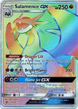 Salamance GX Hyper Rare 73/70 - Sun & Moon Dragon Majesty
