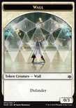 Wall Token (White 0/3) - War of the Spark