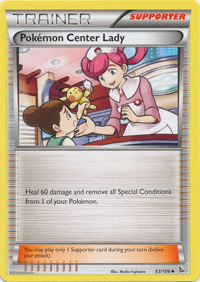 Pokémon Center Lady 68/83 - Generations - Muut Kortit