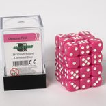 Blackfire Dice Cube, 36x 12mm D6, Opaque Pink