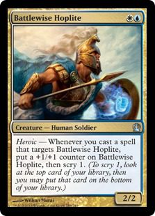 Battlewise Hoplite - Theros