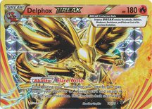 Delphox Break 14/124 - X&Y Fates Collide