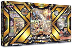 Pokemon Collection Box: Mega Camerupt EX Premium Collection