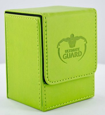 Ultimate Guard Deck Box, Flip Deck Case 80+ Light Green