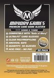 Mayday Games Boardgame Sleeves 50x75 mm (50 pcs)