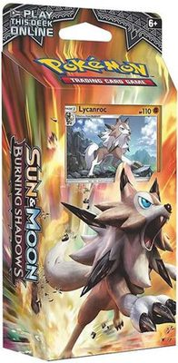 Pokemon SM3: Sun & Moon Burning Shadows Theme Deck: Lycanroc