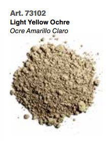 Vallejo Pigments: Light Yellow Ochre 73102