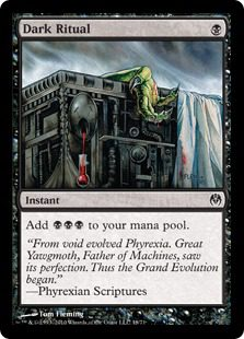 Dark Ritual - Phyrexia vs The Coalition