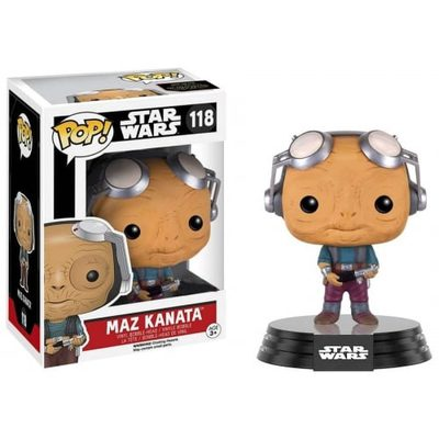 Funko POP! Movies: Star Wars - Maz Kanata (without glasses) Vinyl Figure