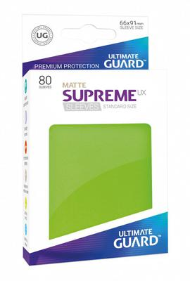 Ultimate Guard Supreme UX Sleeves Matte Light Green (80pcs)