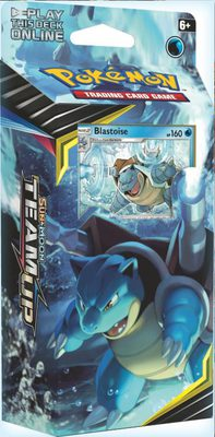 Pokemon SM9: Sun & Moon Team Up Theme Deck Blastoise