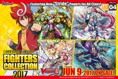 Cardfight Vanguard G Fighters Collection 2017 Booster