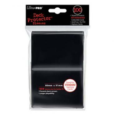 Ultra Pro Sleeves Standard Size Black (100ct)