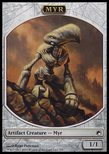 Myr TOKEN 1/1 - Scars of Mirrodin