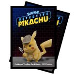 Ultra Pro Pokemon Deck Protector Sleeves Detective Pikachu (Detective Pikachu, 65ct)