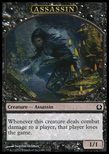 Assassin TOKEN 1/1 - Return to Ravnica