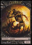 Zombie TOKEN 2/2 - Mirrodin Besieged