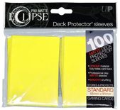 Ultra Pro Sleeves Standard Size Eclipse Lemon Yellow (100ct)