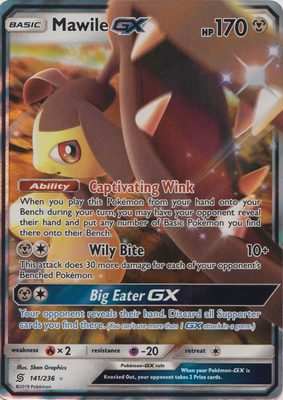Mawile GX 141/236 - Sun & Moon Unified Minds